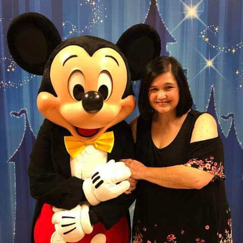 Disney Travel Agent Cindy Upchurch