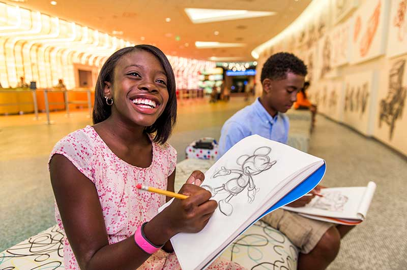Kids Drawing with Disney Animators
