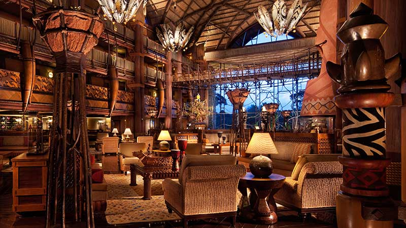 Disney Animal Kingdom Lodge Lobby