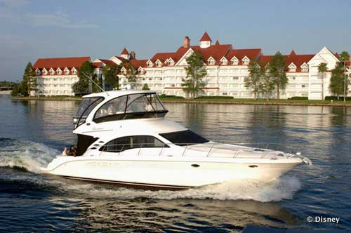 Disney Chartered Yacht Rental