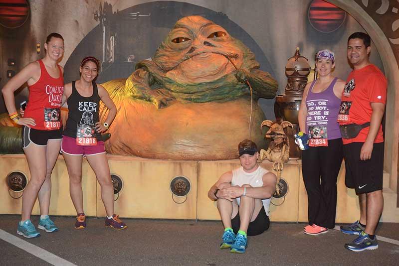 runDisney character Jabba the Hutt