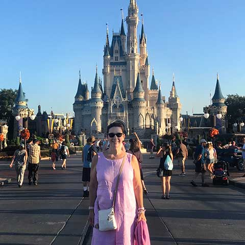 Disney Travel Agent Lynn Amodeo-Smith
