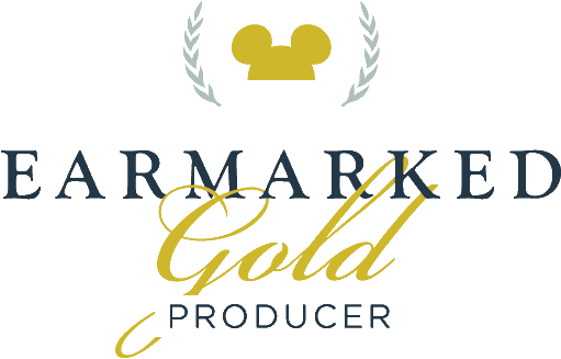 Disney Earmarked Gold Logo