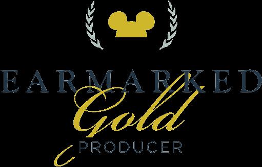 Disney Earmarked Gold Logo